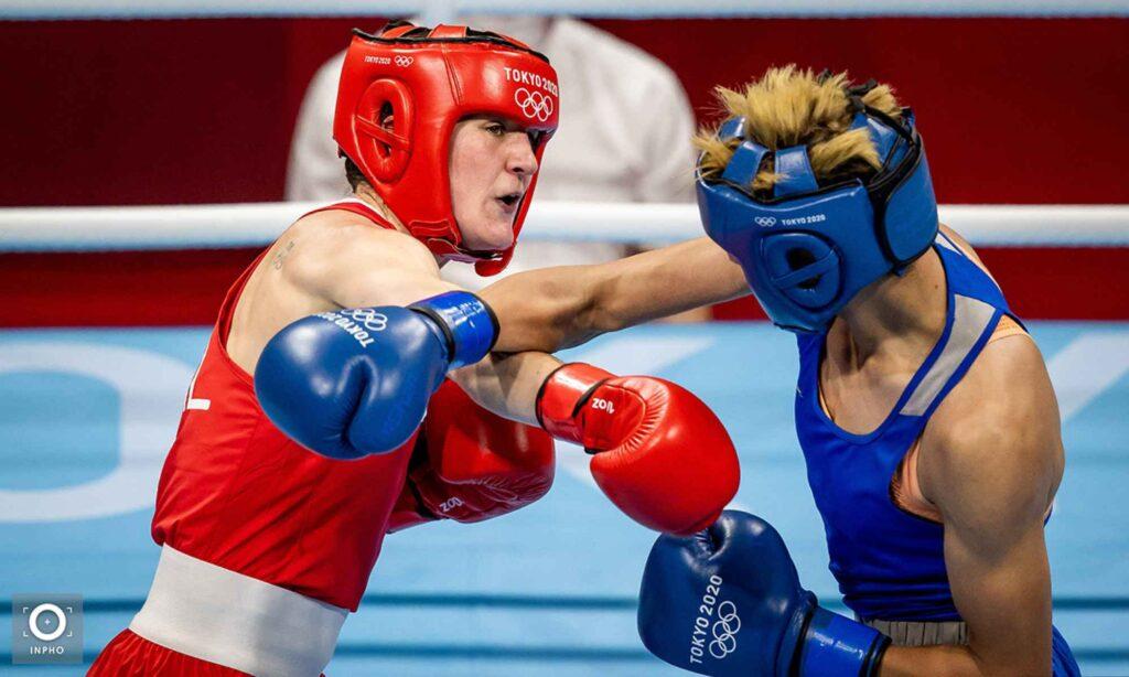 imane khelif bleu tokyo harrington ireland boxe 2020