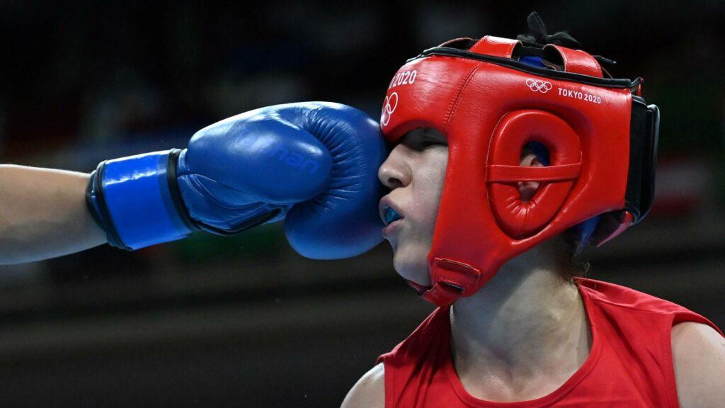 ishrak chaib boxe feminine droite tokyo 2020 jo