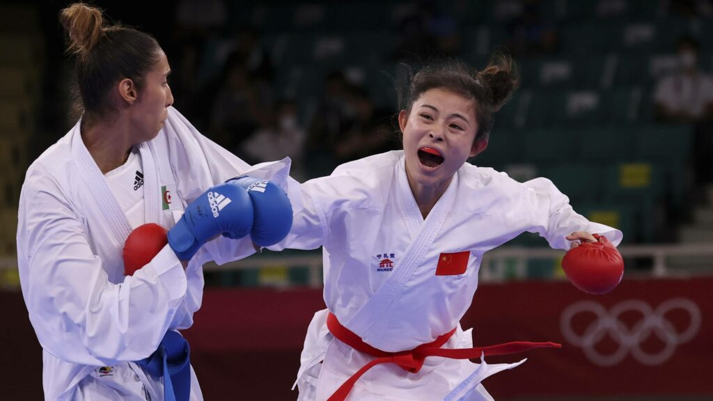 karate jo 2020 lamya matoub defaite chinoise