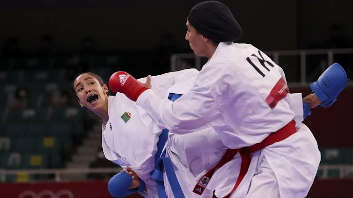lamya matoub honteux egytptienne karate jo 2020