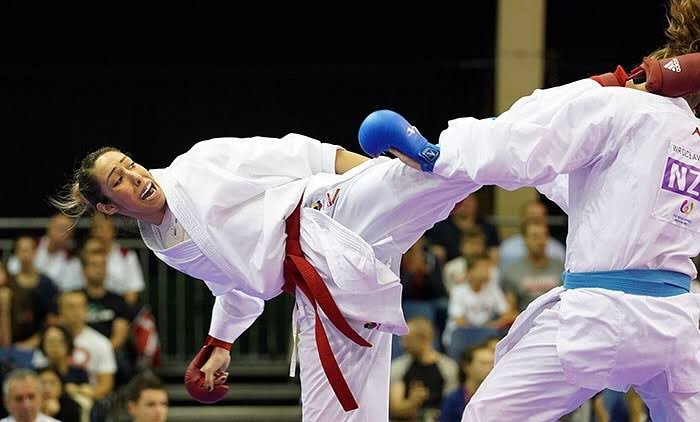 lamya matoub karate algerienne