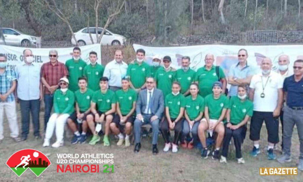 minsitre sebgag U20 athletisme delegation dz juniors filles garçons