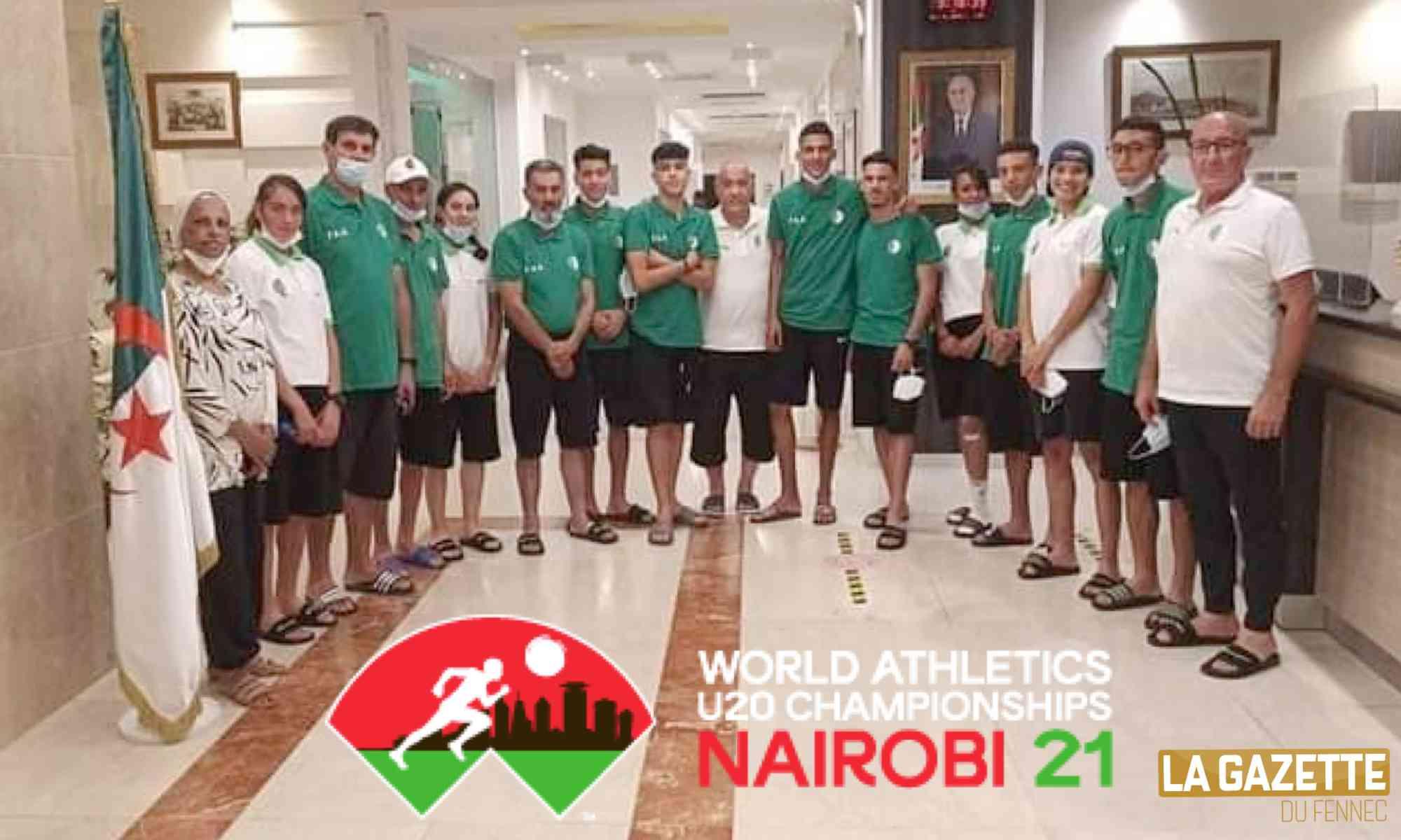 nairobi U20 athletisme delegation dz juniors