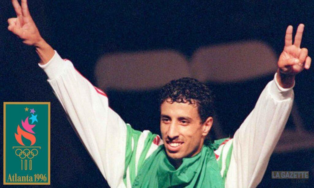 soltani hocine boxe atlanta 1996