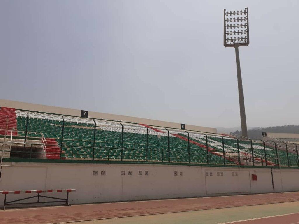 stade tchaker blida aout 2021 pilone