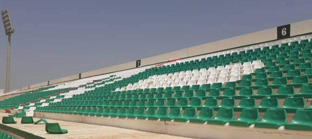 stade tchaker blida gradin siege aout 2021 2