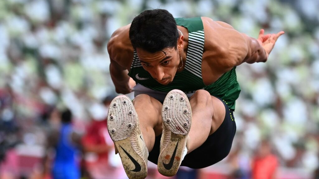 yasser triki saut triple jo 2020