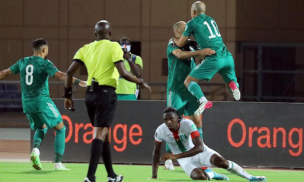 Slimani Feghouli Belaïli Burkina Faso Algérie