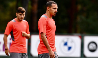 Bennacer entraînement AC Milan LDC Liverpool