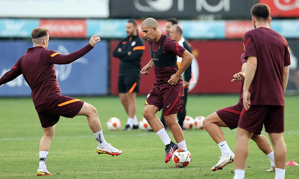 Feghouli entraînement Galatasaray