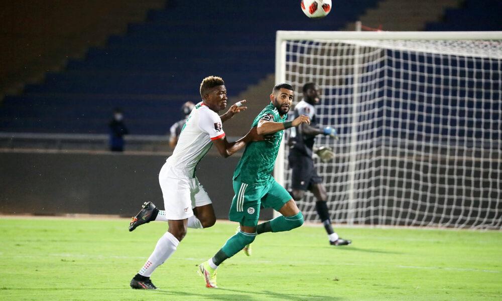 Mahrez duel burkina 1 1 marrakech septembre 2021