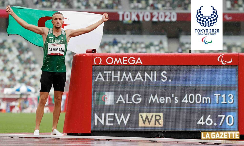 athmani paralympics heros or record