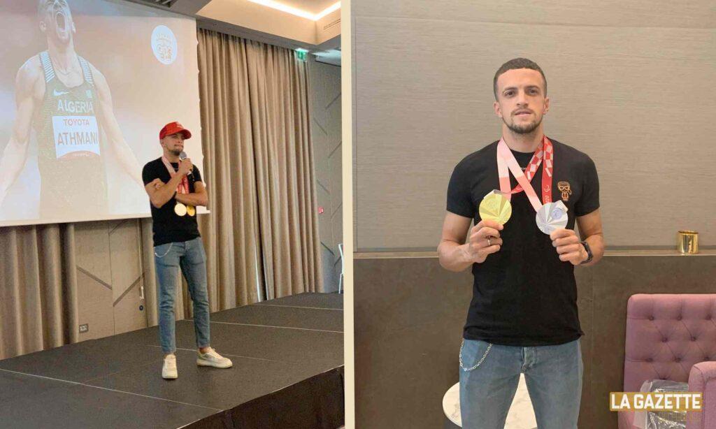 athmani skander djamil team building medaille paralympiques