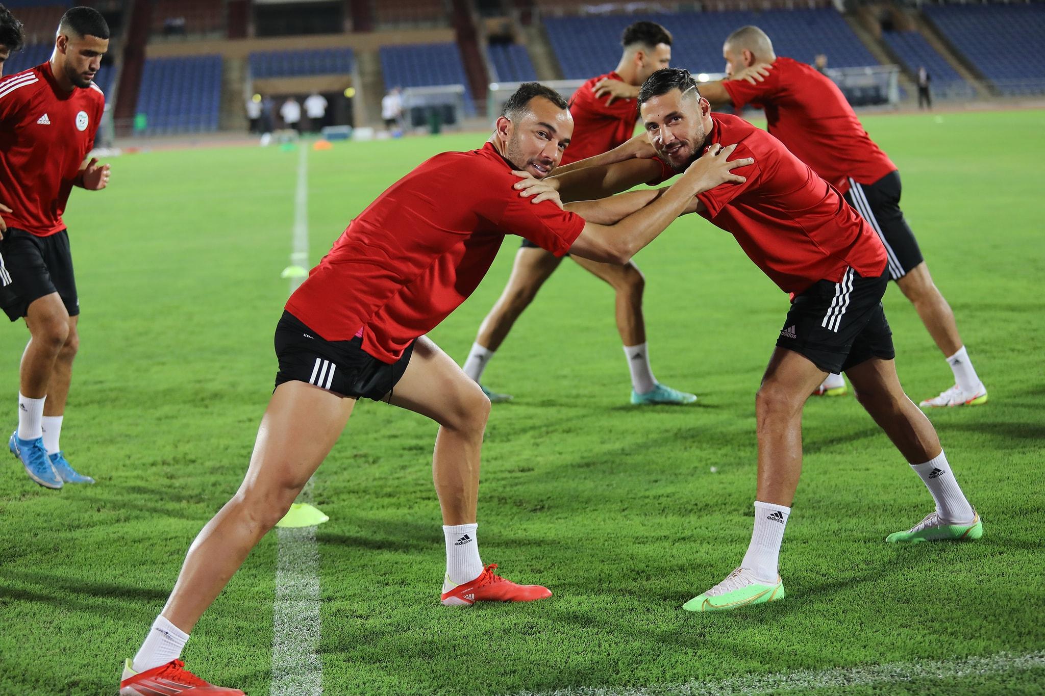 benlamri belaili marrakech entrainement veille burkina septembre 2021