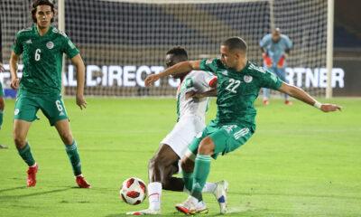 bennacer recupere zerrouki burkina 1 1 marrakech septembre 2021