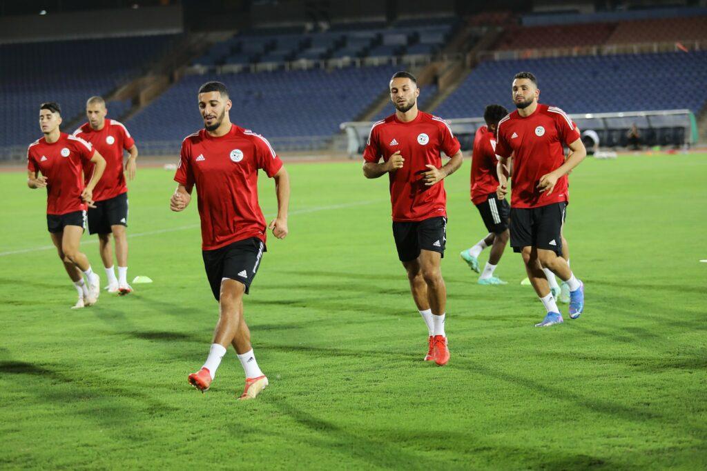 benrahma belkebla marrakech entrainement veille burkina septembre 2021