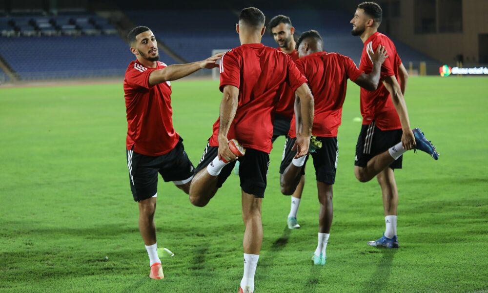 benrahma touba marrakech entrainement veille burkina septembre 2021