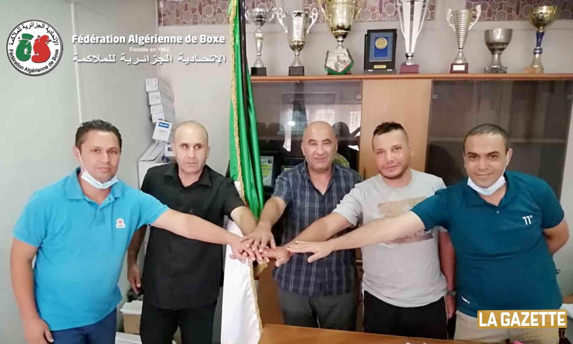 boxe algerienne federation reunion kenzi