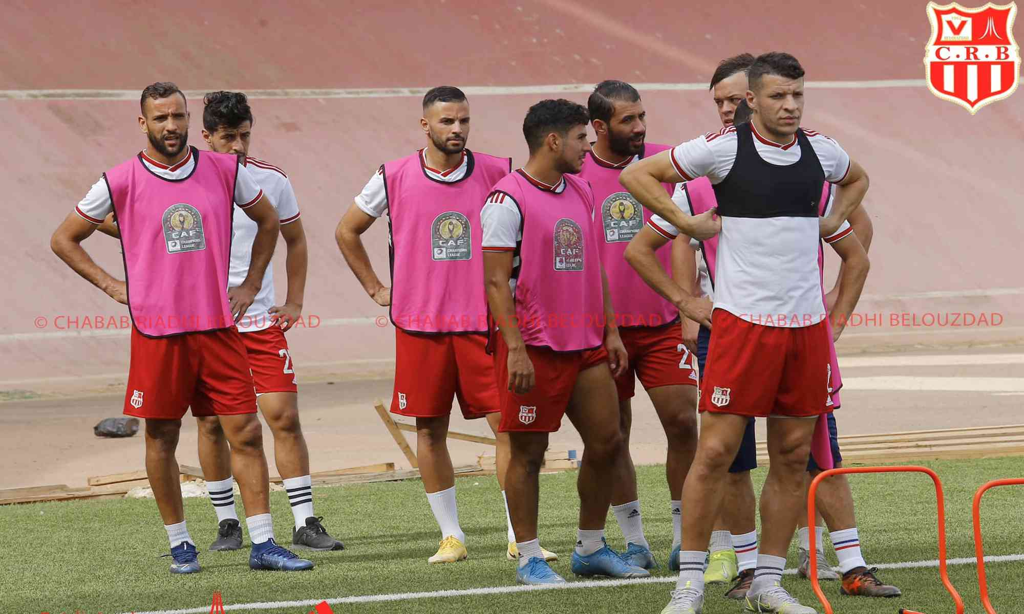 chabab crb entrainement nessakh caf cl