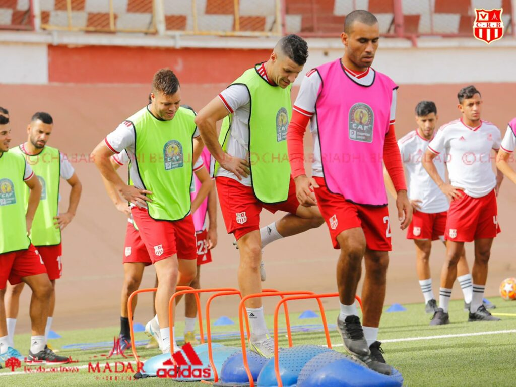 crb chabab chasuble caf cl entrainement bouchar