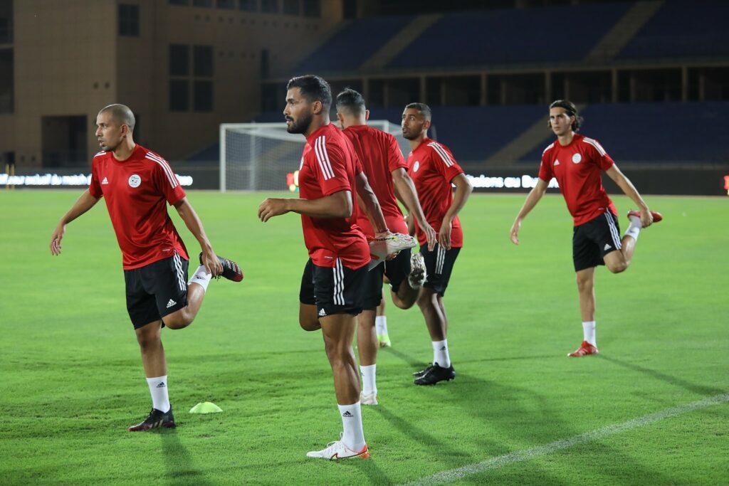 feghouli halaimia marrakech entrainement veille burkina septembre 2021