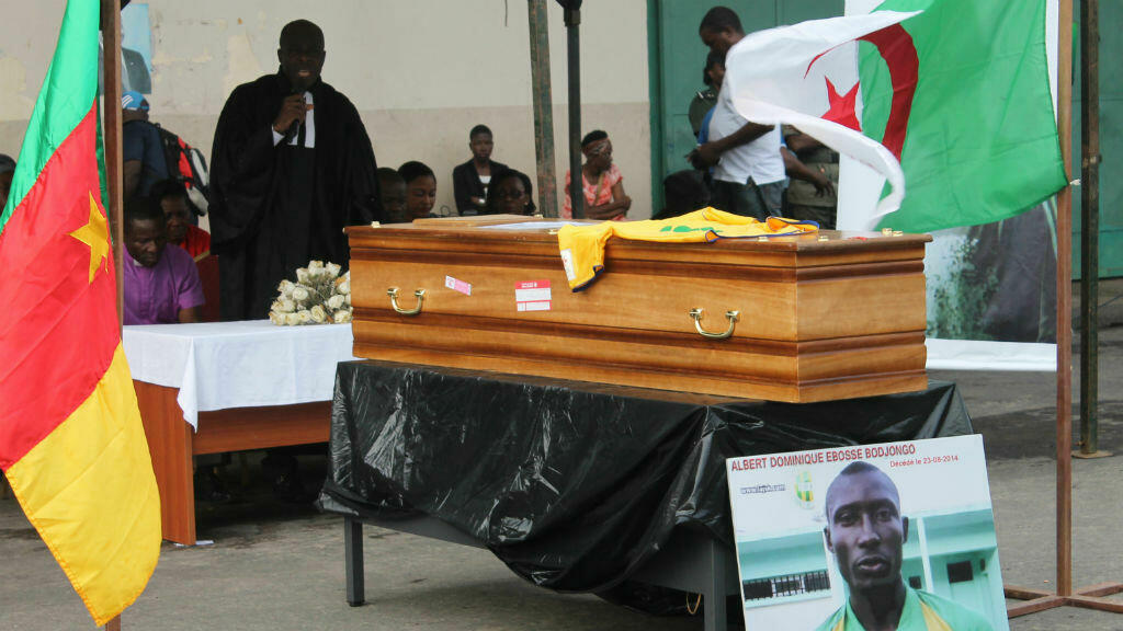 football albert ebosse drame camerounais jsk algerie