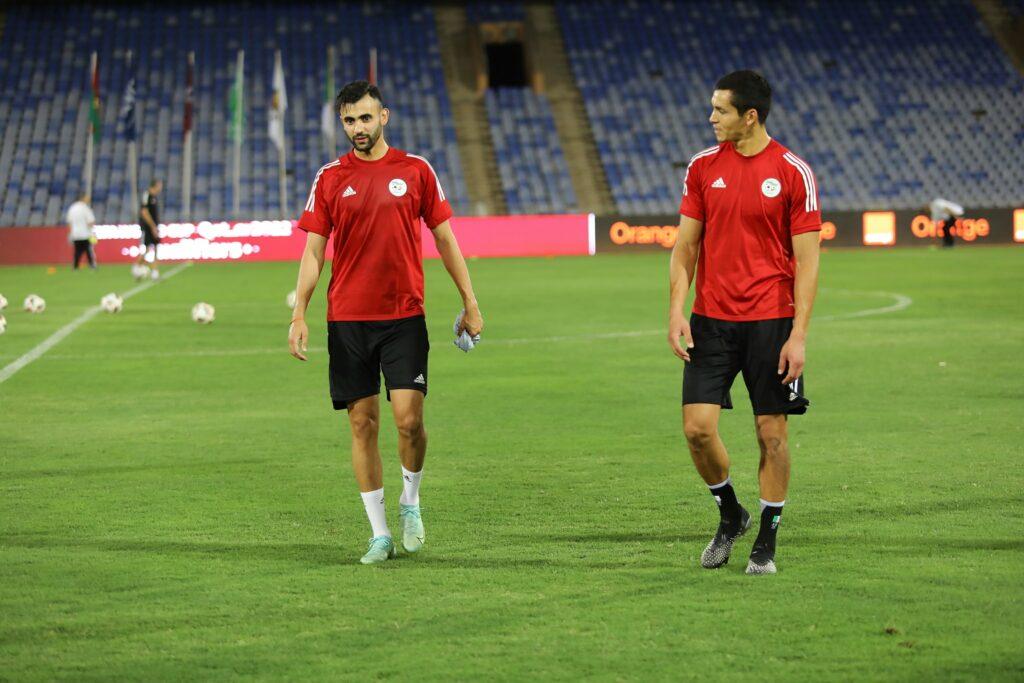 ghezzal mandi marrakech entrainement veille burkina septembre 2021
