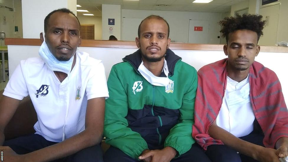 joueurs djibouti asile politique france bilal hassan aboubakar elmi nasrodin aptidon