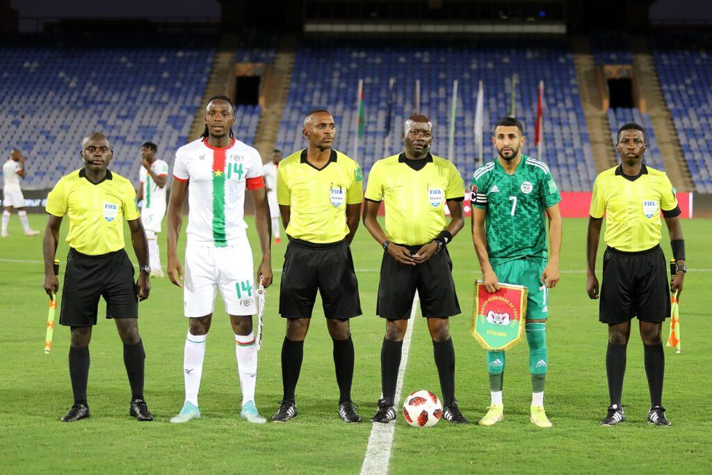mahrez capitaine avant match burkina 1 1 marrakech septembre 2021