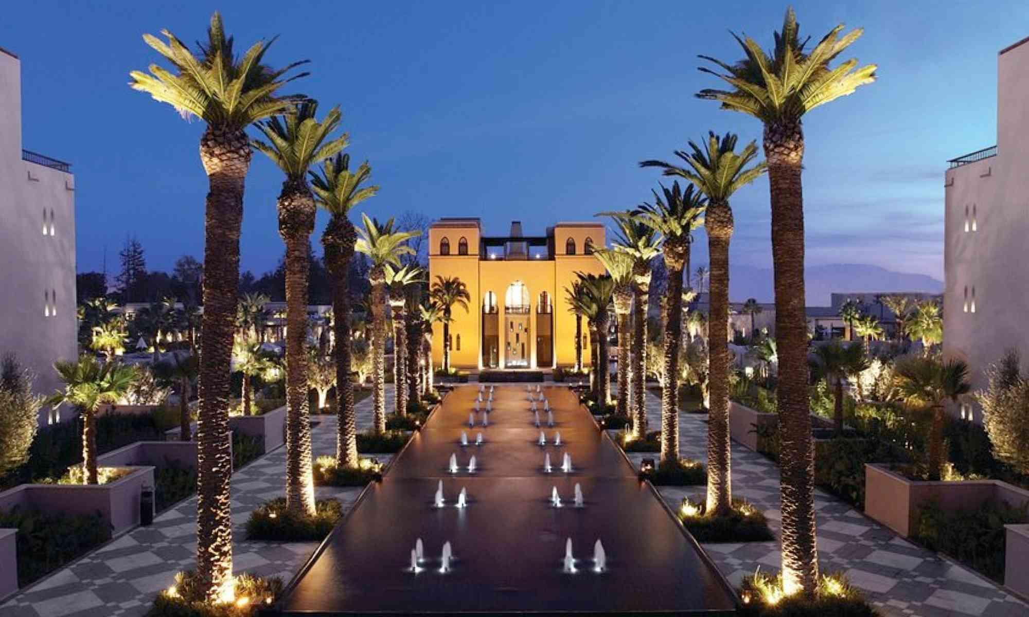 marrakech hotel four seasons maroc