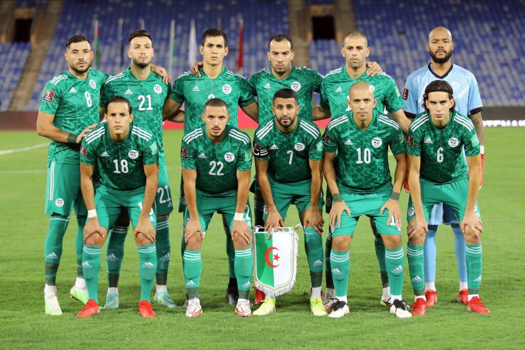 team onze algerie burkina 1 1 marrakech septembre 2021