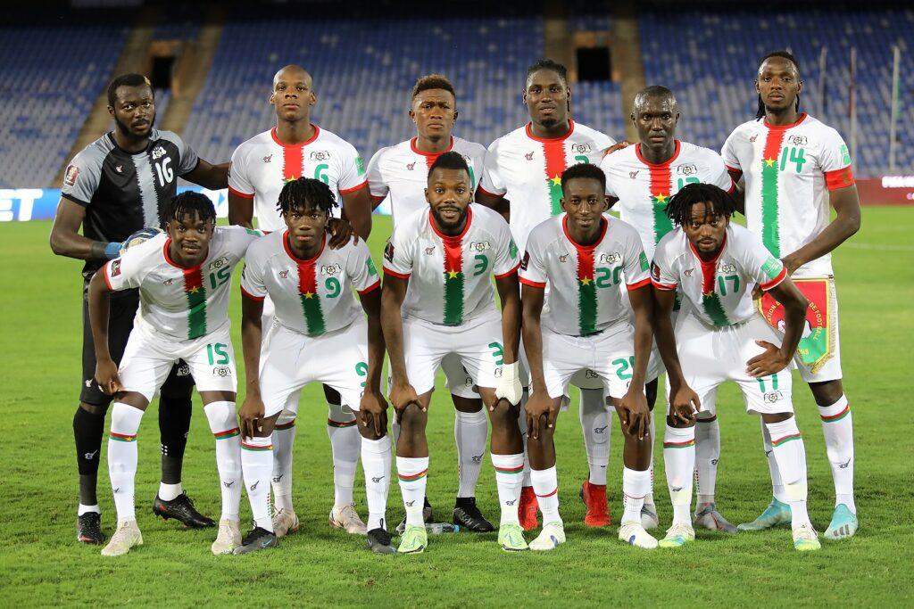 team onze bfa burkina 1 1 marrakech septembre 2021