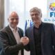 wenger infantino coupe du monde FIFA 2 ans