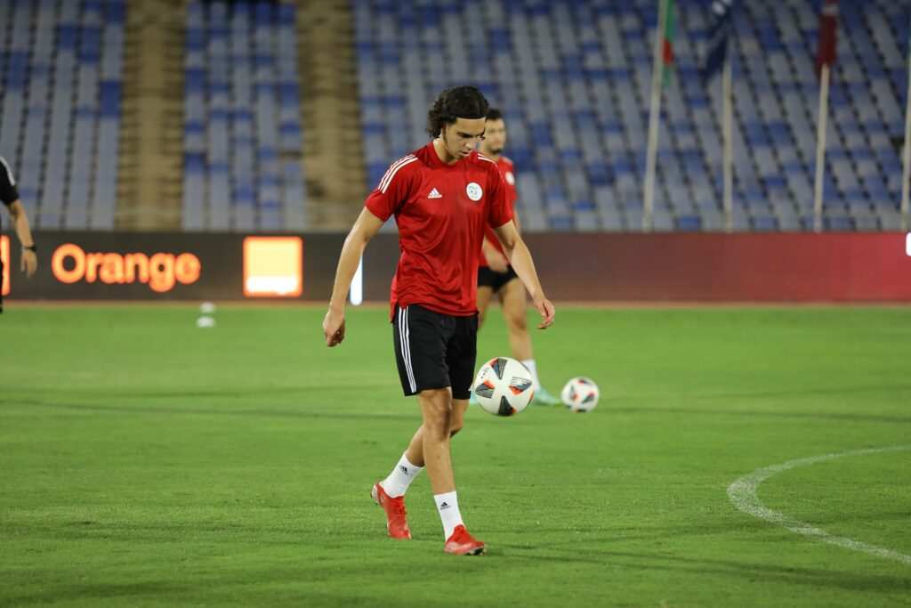 zerrouki ramiz marrakech entrainement veille burkina septembre 2021