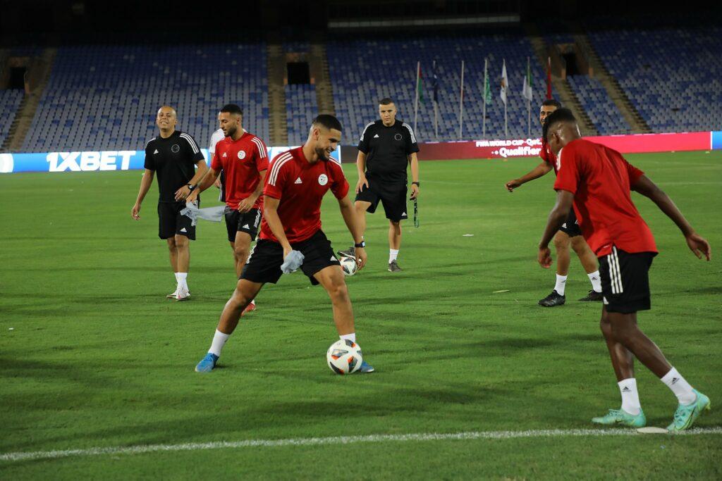 zorgane zohir marrakech entrainement veille burkina septembre 2021