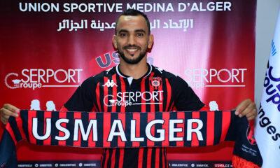 Ibrahim chenihi USM Alger
