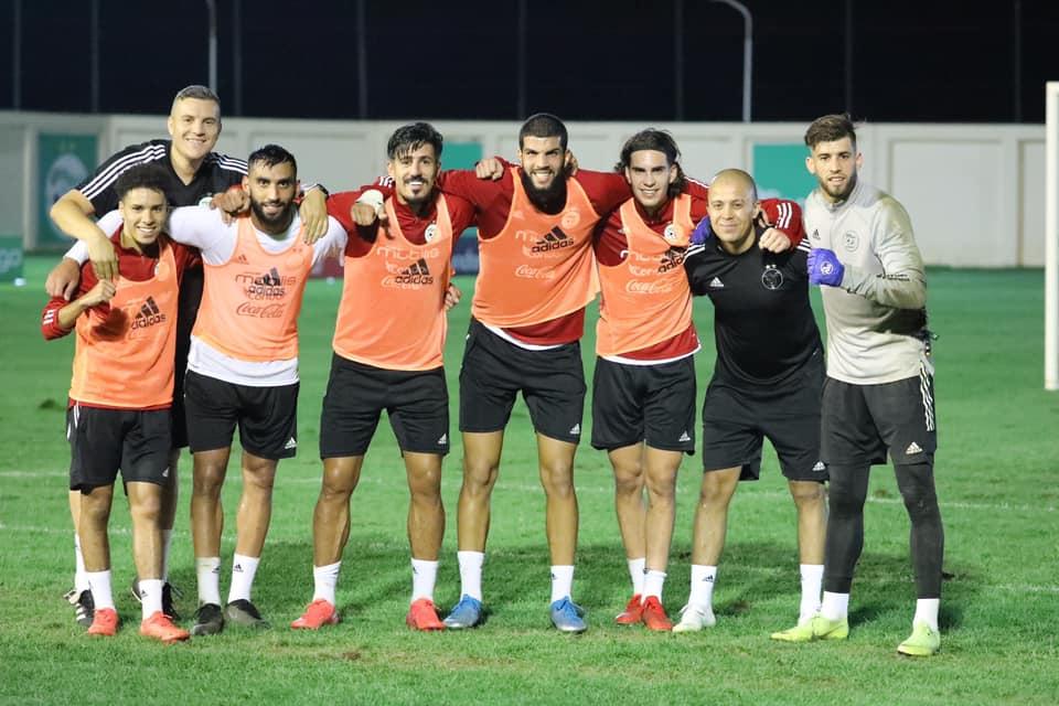 Sidi Moussa entraînement