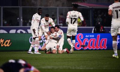 Bennacer but vs Bologna