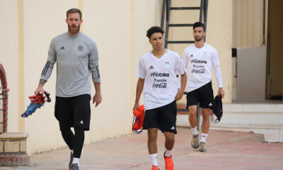 Kebbal Oukidja Amoura Equipe nationale A Sidi Moussa