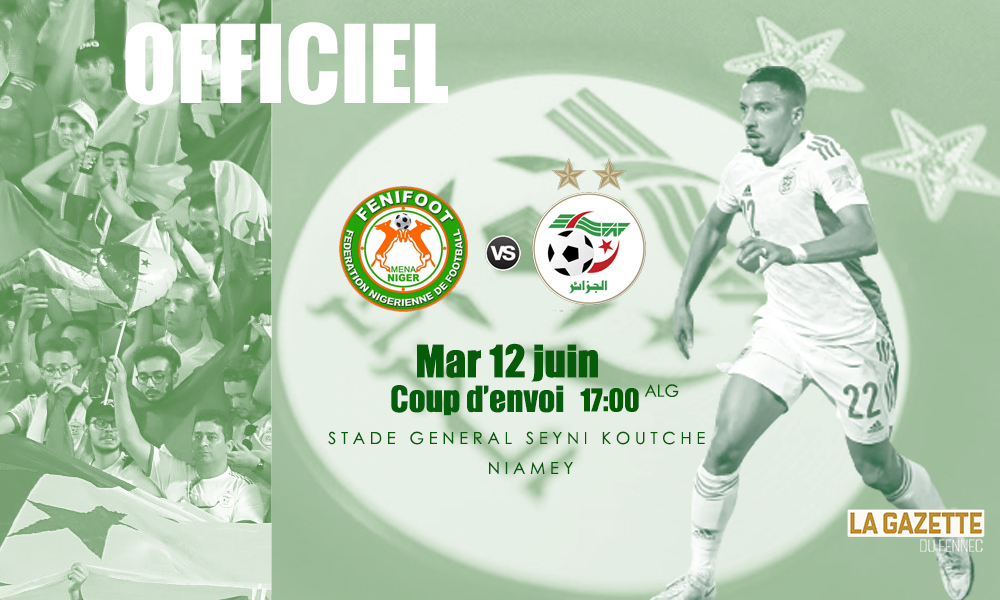 Algerie Niger Niamey