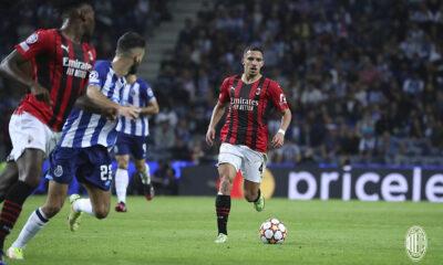 Ismaël Bennacer AC Milan FC Porto