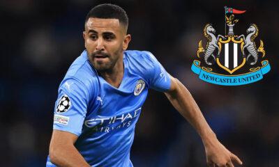 Riyad Mahrez Newcastle United