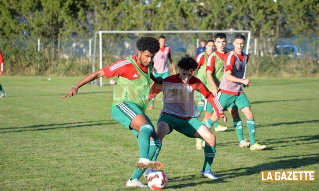 entrainement stage U18 octobre 2021 france lisse