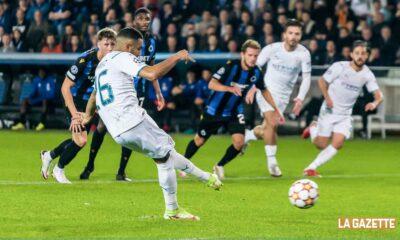 mahrez penalty club bruge ldc