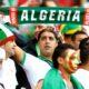 supporters algeria public tribune banderole