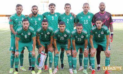 team algerie onze contre niger niamey