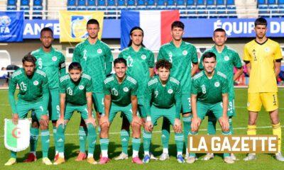 u18 onze team france algerie zuliani