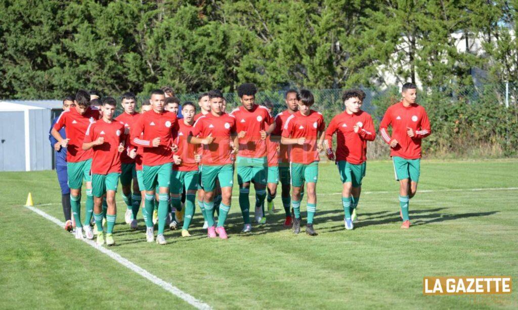 zuliani belaid groupe U18 octobre 2021 france lisse